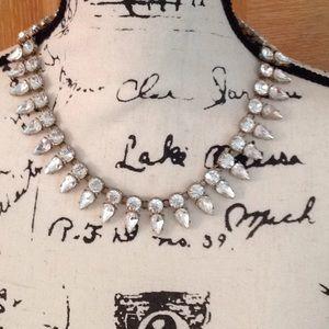 JCrew Crystal choker  necklace